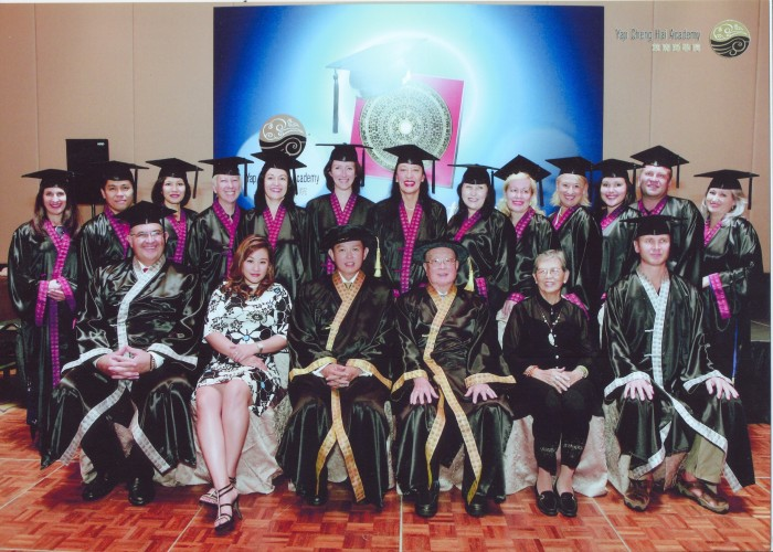 Graduating course of 2010 - Academy of Grand Master Yap Cheng Hai
